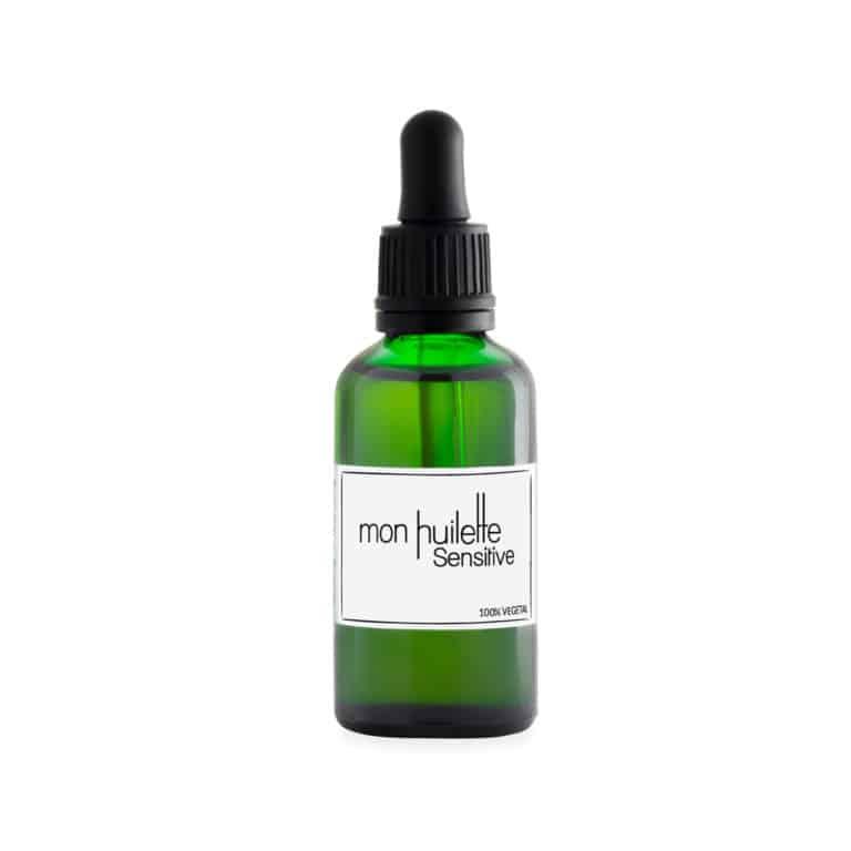 huile sensitive corps visage