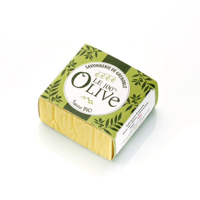 savon corps olive