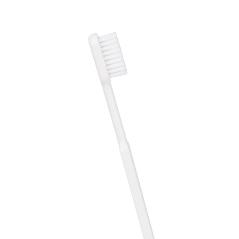 brosse à dents bioplastique blanche