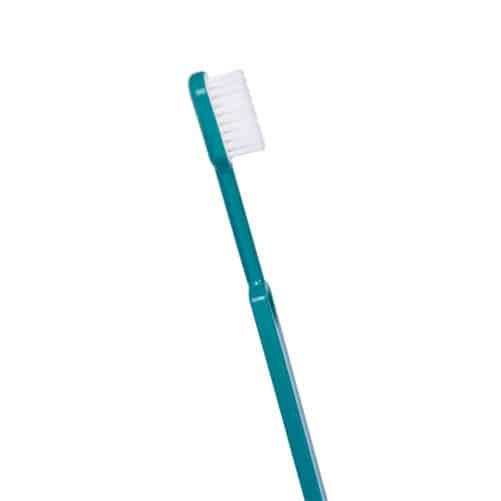 brosse à dents bioplastique turquoise