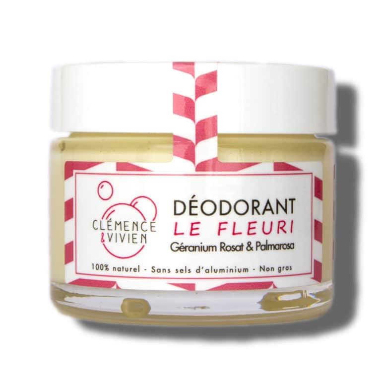 déodorant fleuri