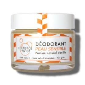 déodorant vanille peaux sensibles
