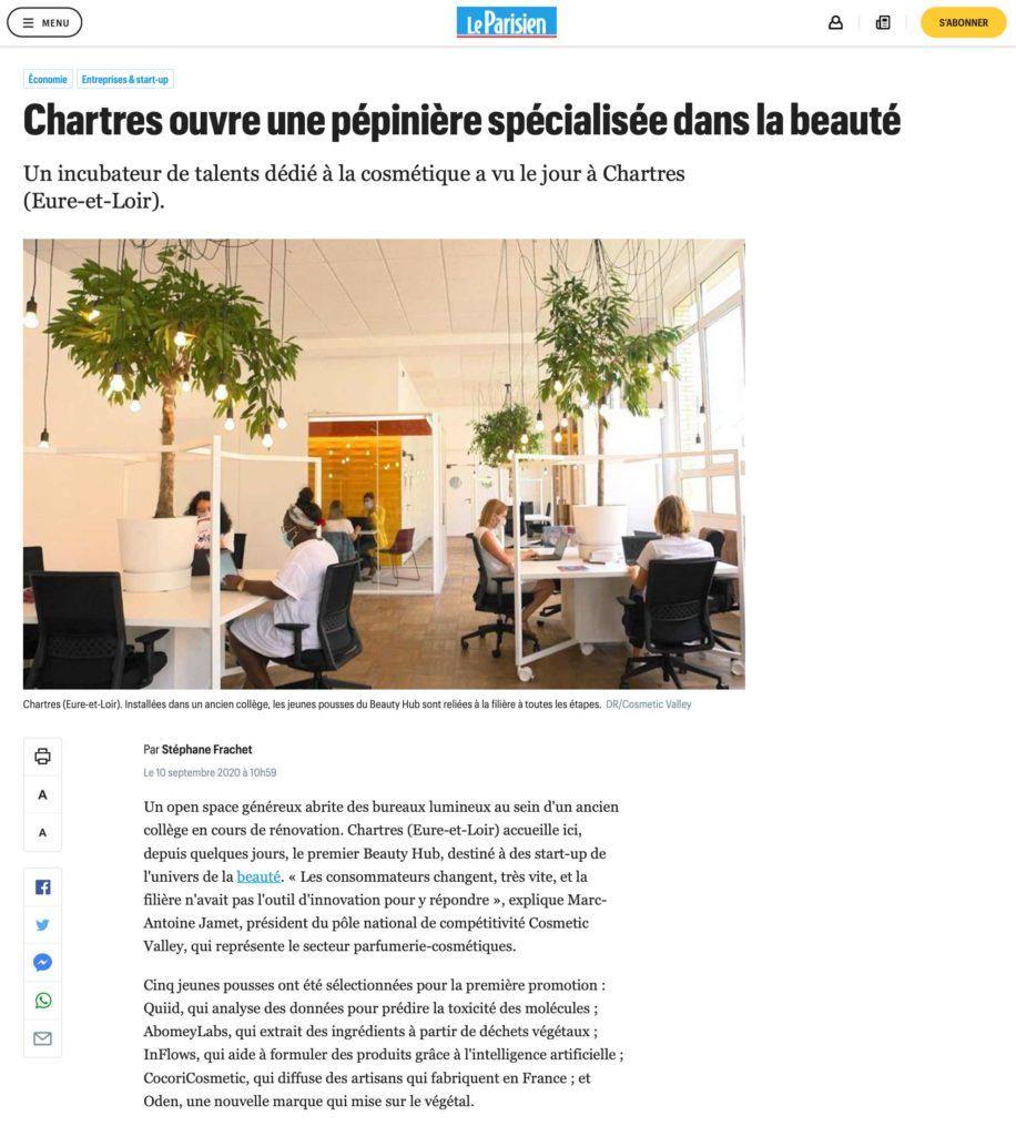 Le Parisien - 11/09/2020