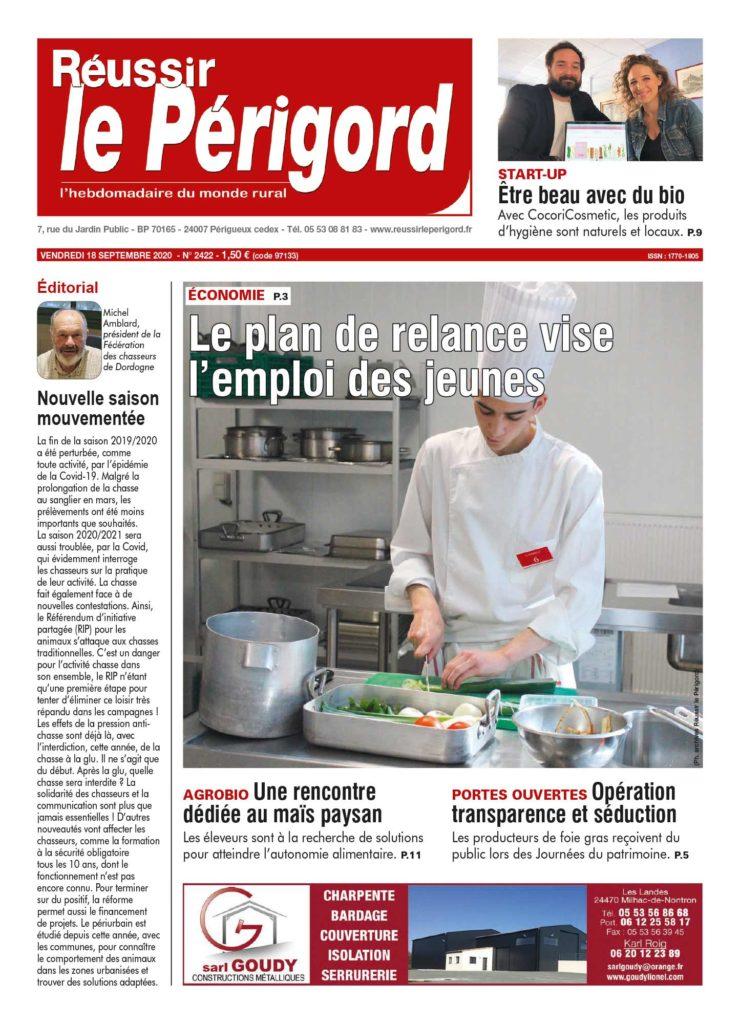 Réussir le Périgord - 18/09/2020