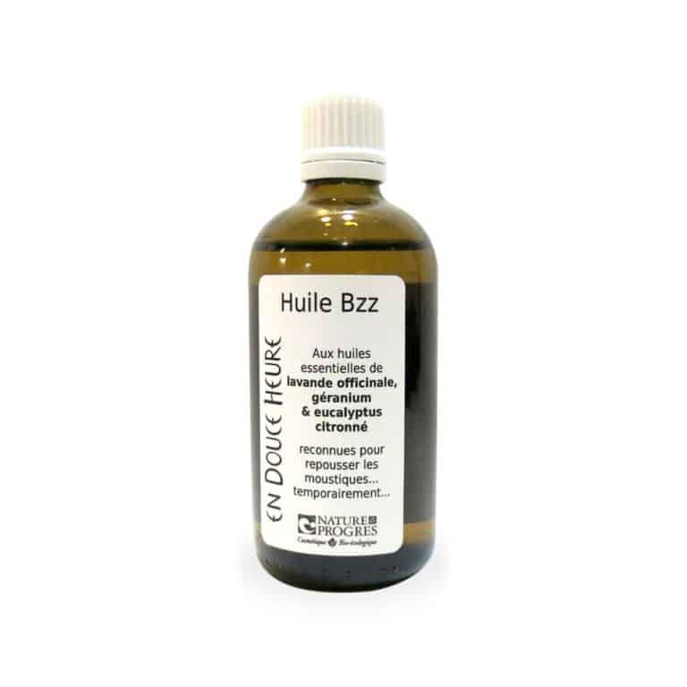 huile anti-moustique Bzz