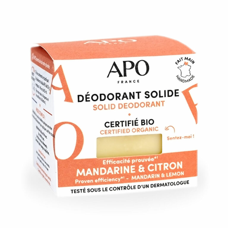 Déodorant Solide Bio Agrumes
