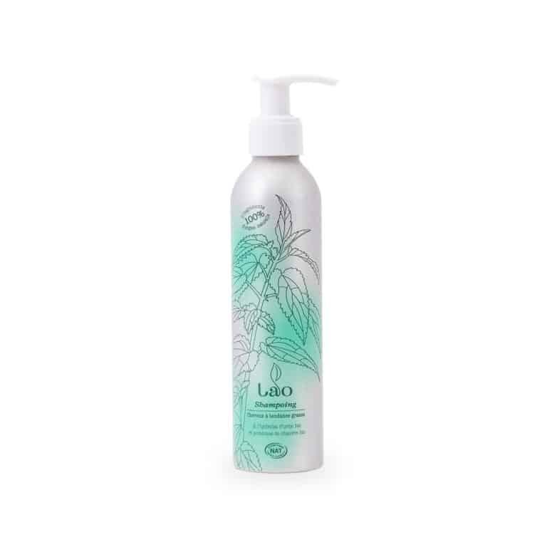 shampoing cheveux gras à l'ortie