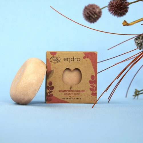 Shampoing Solide Granit Rose ambiance