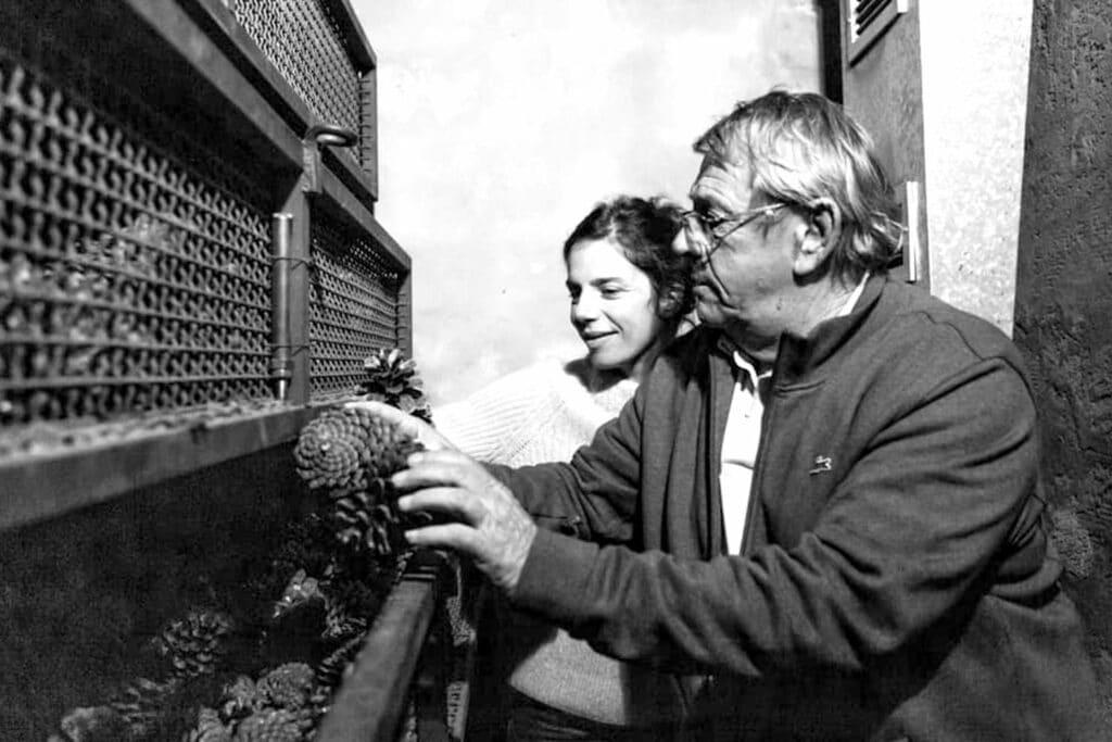 Océopin Marina et son père Jean-Jacques